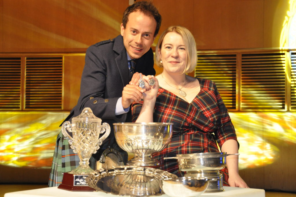 This year's silver pendants won by Oban and Fort William competitors