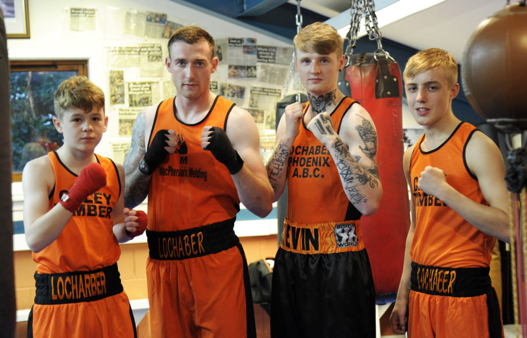 International action on the card for Lochaber boxing home show