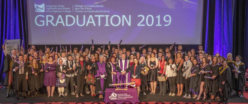 West Highland College UHI graduates celebrate their success