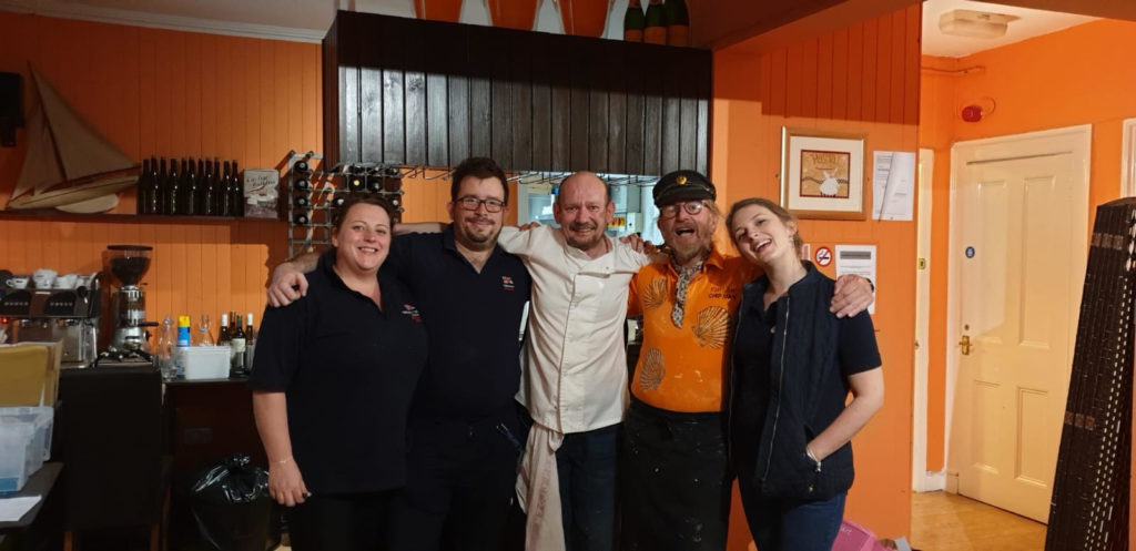 Fish supper dishes up lifeboat funds