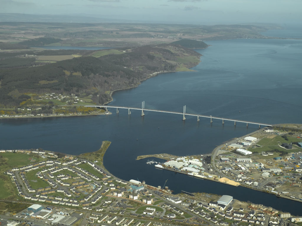 Kessock Bridge has been listed as a category B structure