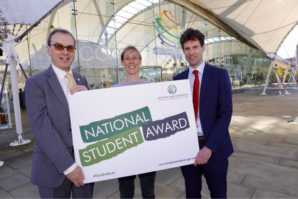 Scottish Land Commission launches new student award