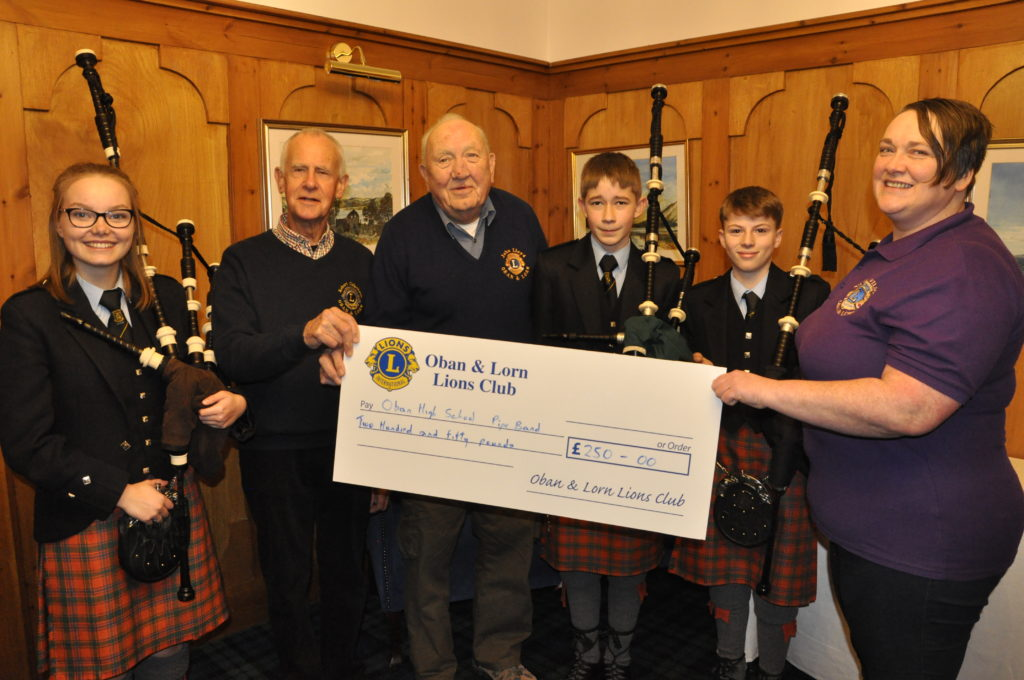 Lions pay the pipers who played the tunes