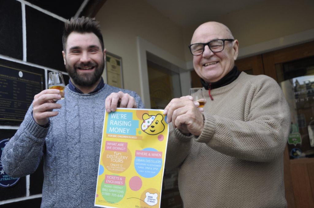 Distillery raises cheer for Children In Need