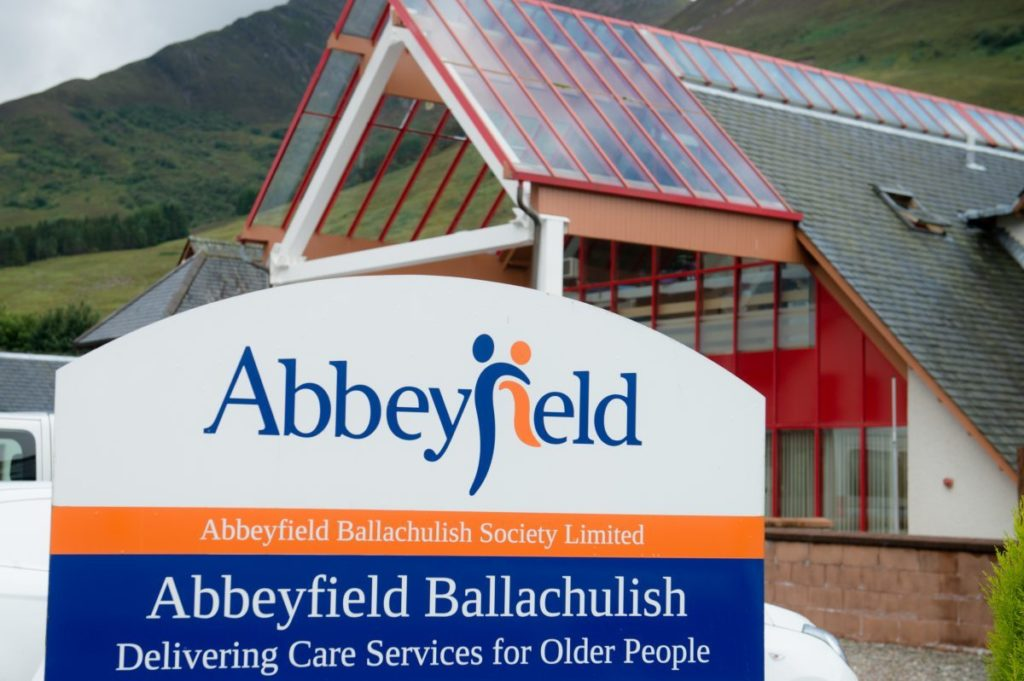 Abbeyfield Ballachulish shortlisted for Scottish Care Awards