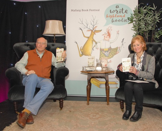 A Write Highland Hoolie gets Mallaig buzzing about books