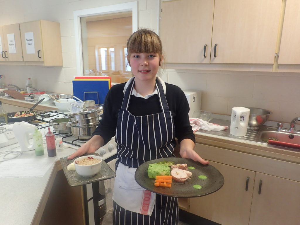 Young chef Helen has right recipe to win Rotary competition