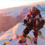 Nirmal Purja, seen here atop Everest, will be a star attraction at next year's festival. NO F47 Nims Everest summit