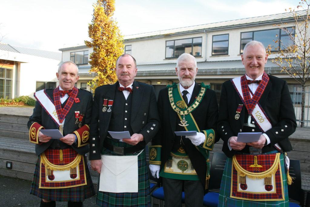 Lochiel Masonic lodge celebrates 100 years in the community