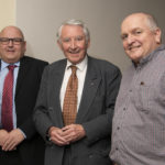 Sponsor, Alasdair Ferguson (left) with Lord Steel and Frazer Coupland of Lochaber Chamber of Commerce. Photograph, Iain Ferguson, alba.photos NO F48 Charles Kennedy Lecture