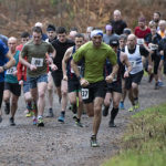 Finlay Wild leads Sunday's Lochaber Athletic Club race. Photograph: Iain Ferguson, alba.photos NO F48 LAC FASSIFERN RACE 02