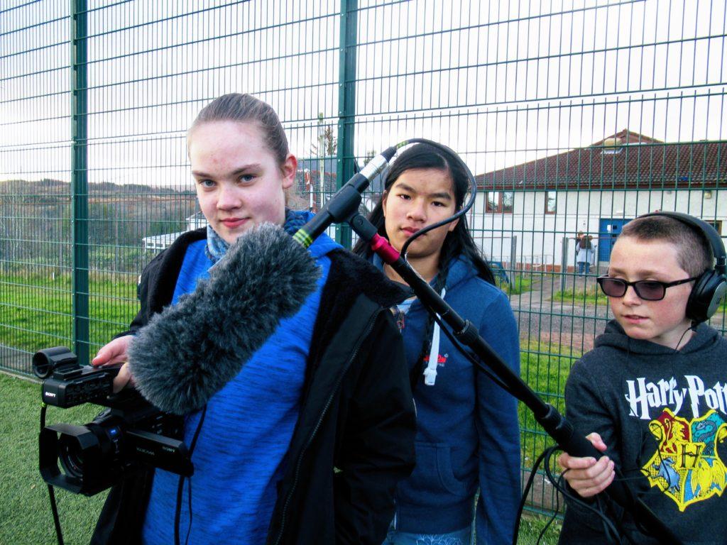 Tobermory High School creatives produce Gaelic short film