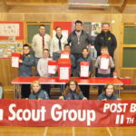 1st Argyll Scouts getting ready for Scout Post. 17_T44_ScoutPost01
