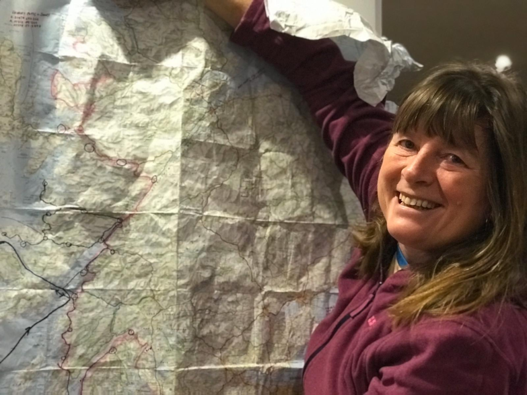 Karen walking in footsteps of Local Hero movie as part of trip through Lochaber