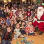 Children of Liberty employees (pictured above) were very excited about meeting Santa and receiving presents at their Christmas party which was held in the Moorings Hotel at Banavie on Tuesday evening. Photograph: Iain Ferguson, alba.photos NO-F49-LIBERTY-CHRISTMAS-PARTY.jpg
