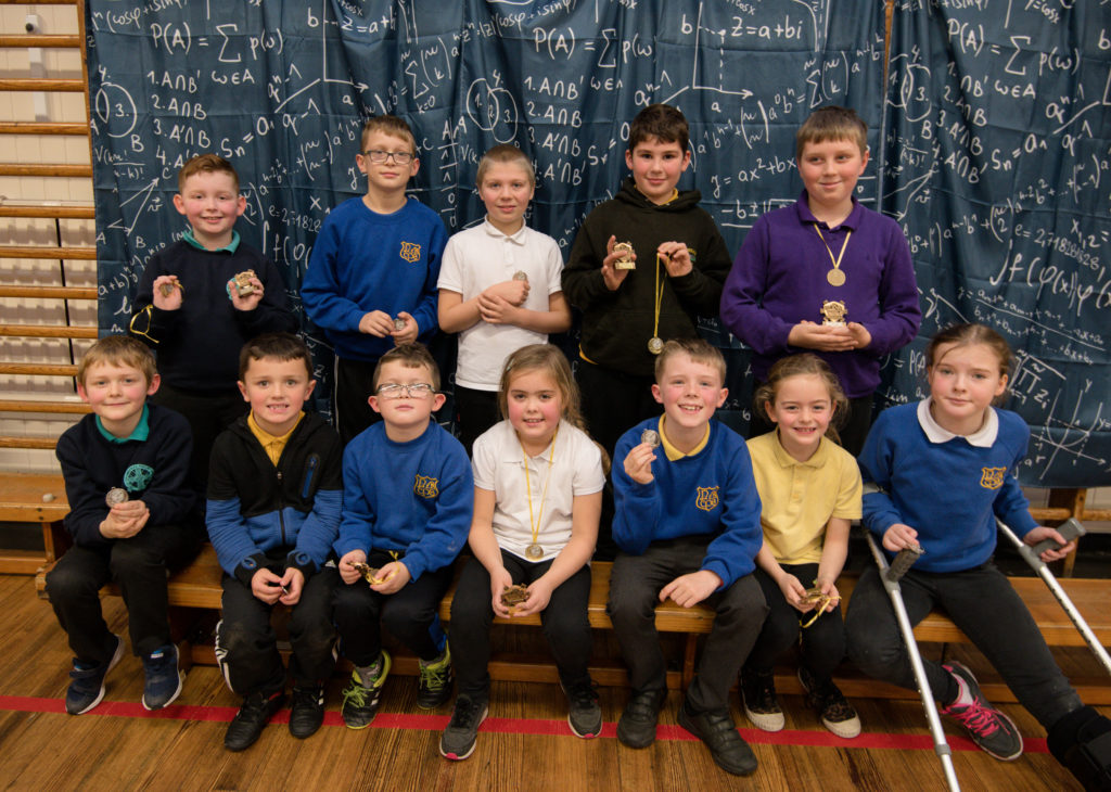 Inverlochy Primary counts the smiles at first Maths Bee event