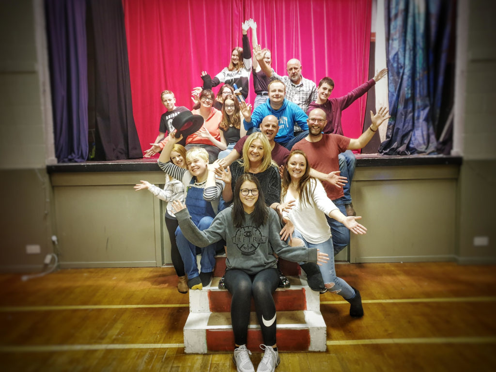 The cast of The Swan Princess are ready to entertain audiences. NO F49 Showstoppers Panto Cast 2019