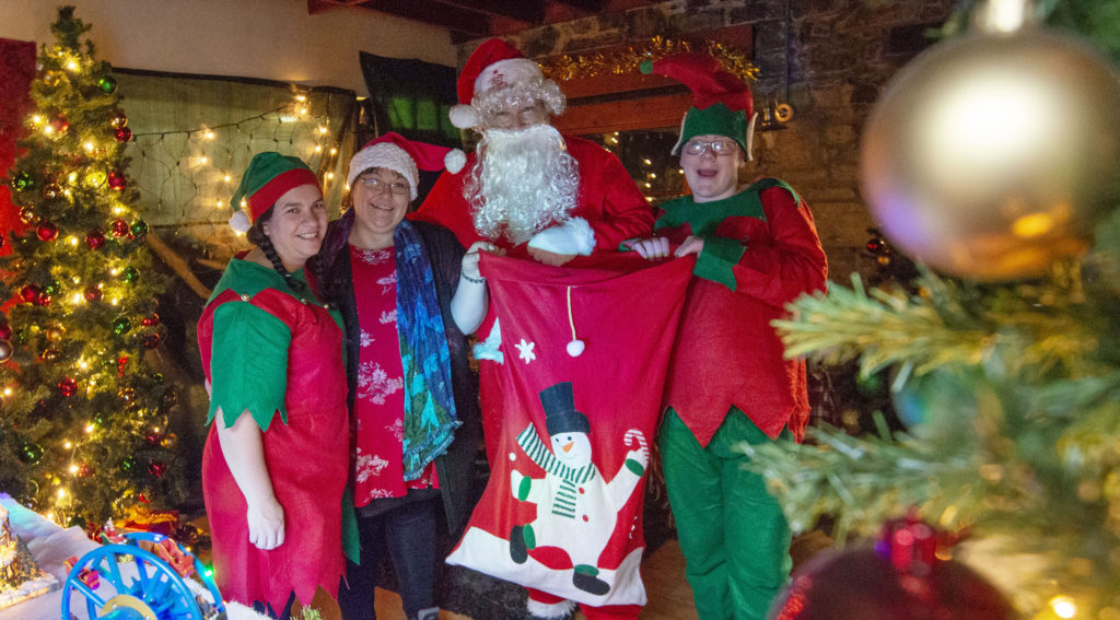 Santa pays visit to 6th Lochaber Scouts