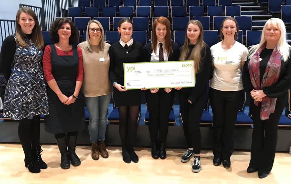 Youth team wins £3,000 boost for Care Lochaber