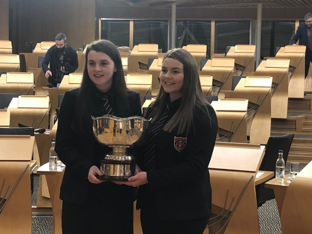 Sgoil Lionacleit successful at National Debate 2019
