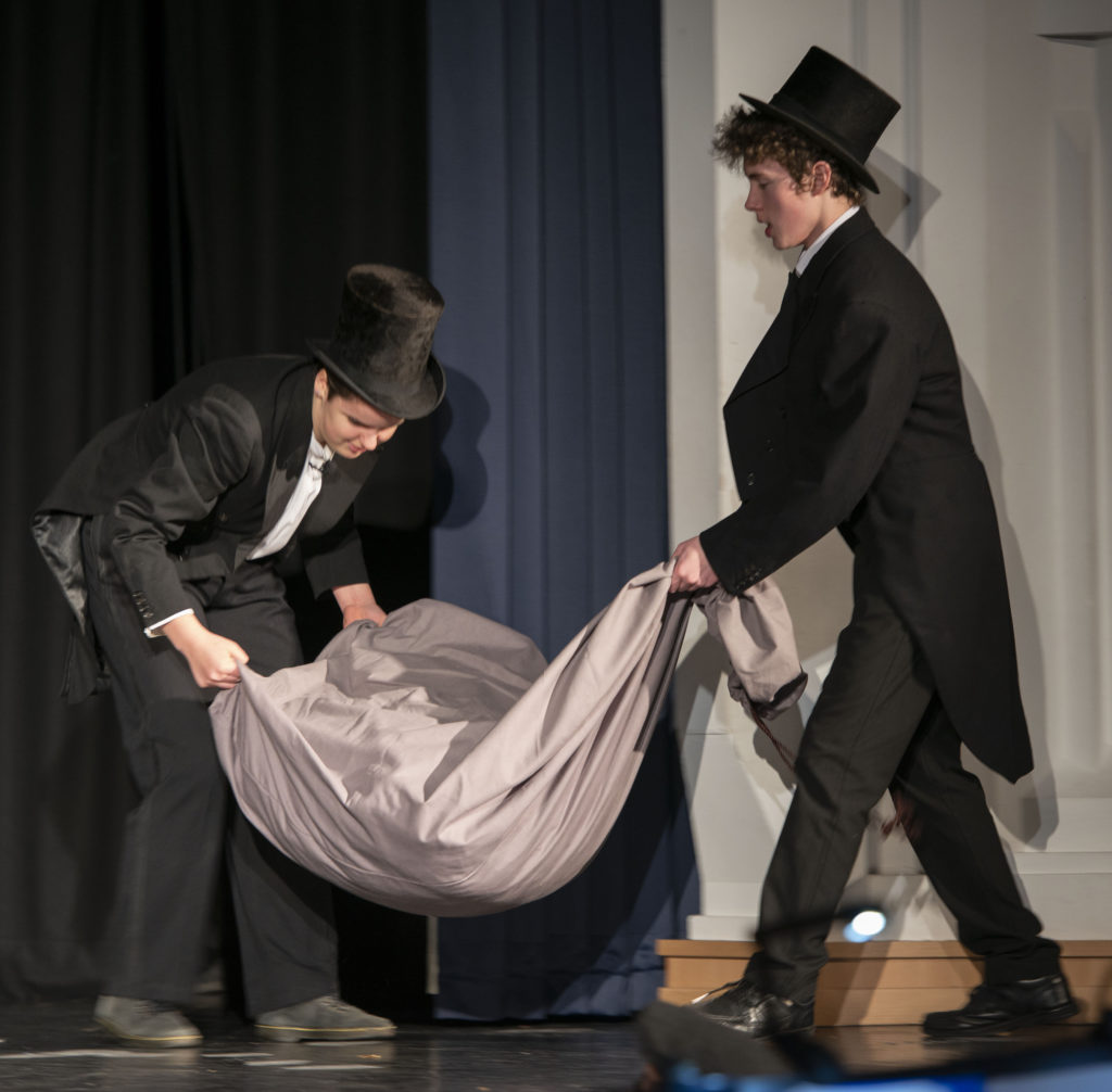 Audiences entranced by Lochaber High School's production of Burke and Hare