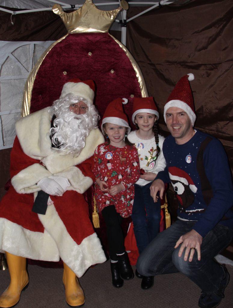 Families get into the Christmas spirit as Santa visits Kyle of Lochalsh RNLI