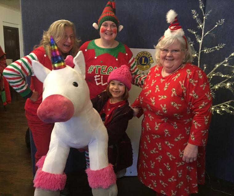Lions' Santa is a roaring success