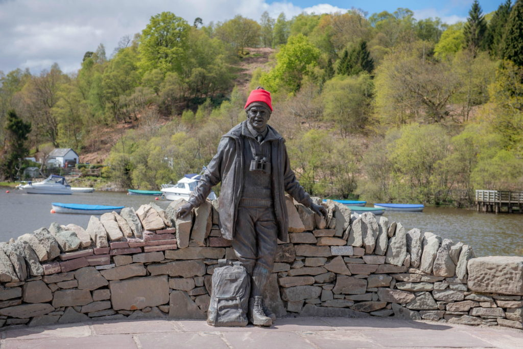 Mountain man Tom Weir's statue site targeted by thieves