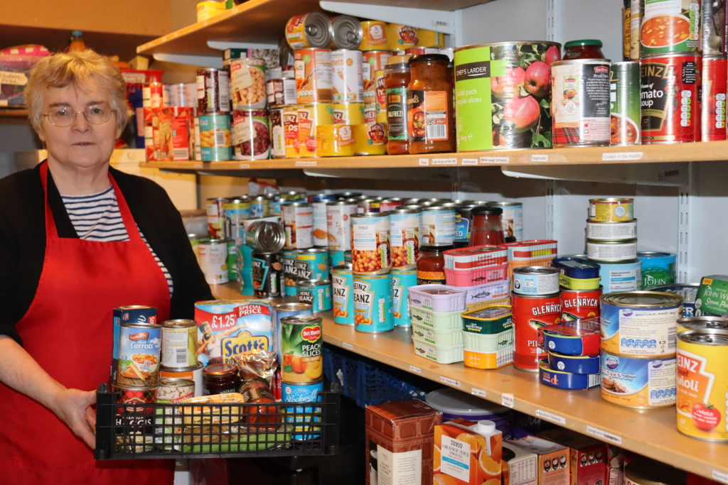 Food bank use in Argyll and Bute is on the rise