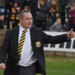 Saturday's game against Wick was McMorran's last game in charge of the team. Photograph: Fort William FC. NO F02 McMorran departs
