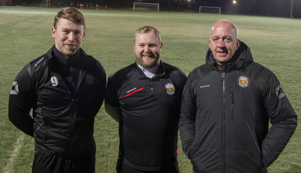 New manager and backroom team appointments announced at Claggan Park