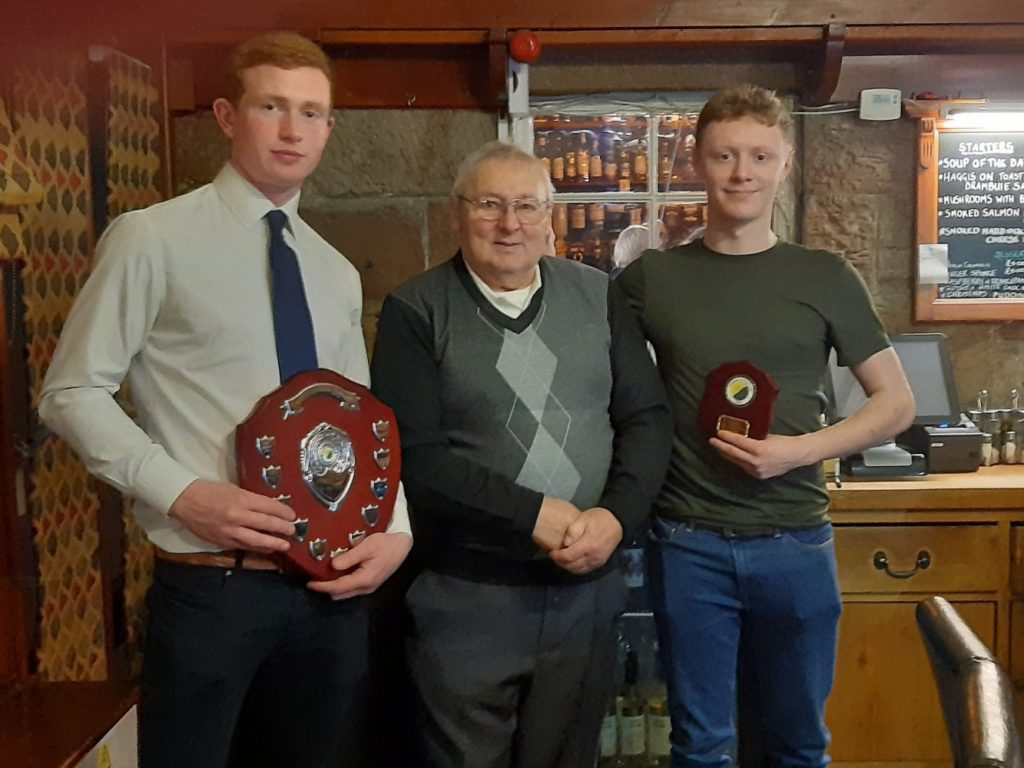 Dalgety named Glengarry Shinty Club players' player of the year