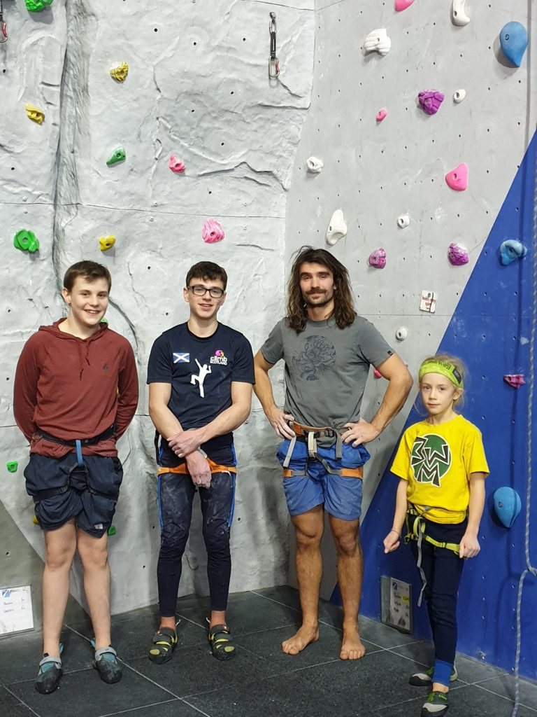 Youth climbers hitting the heights in competitions