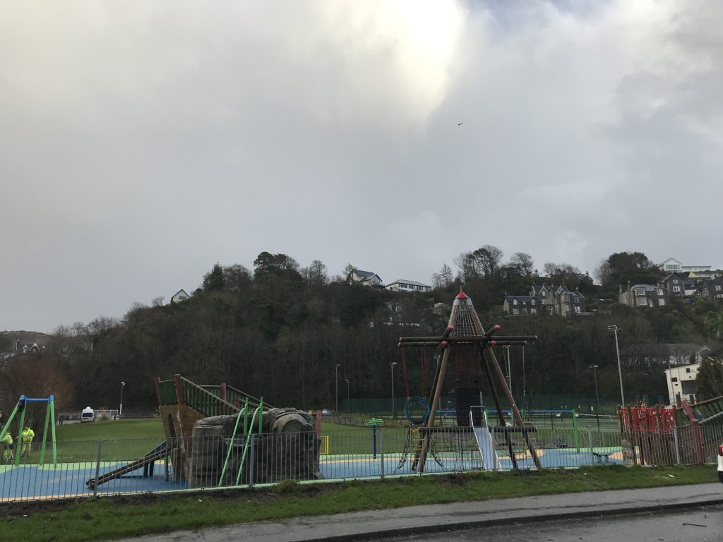 Oban Community Playpark is open