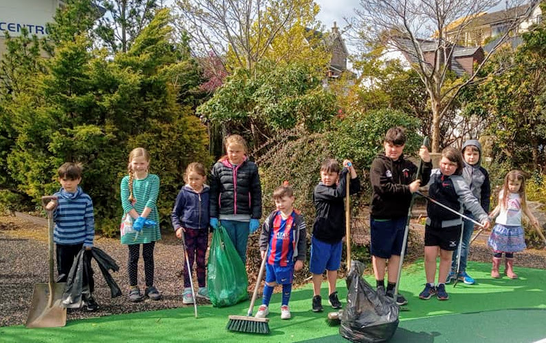 Oban rallies after play park damage | The Oban Times