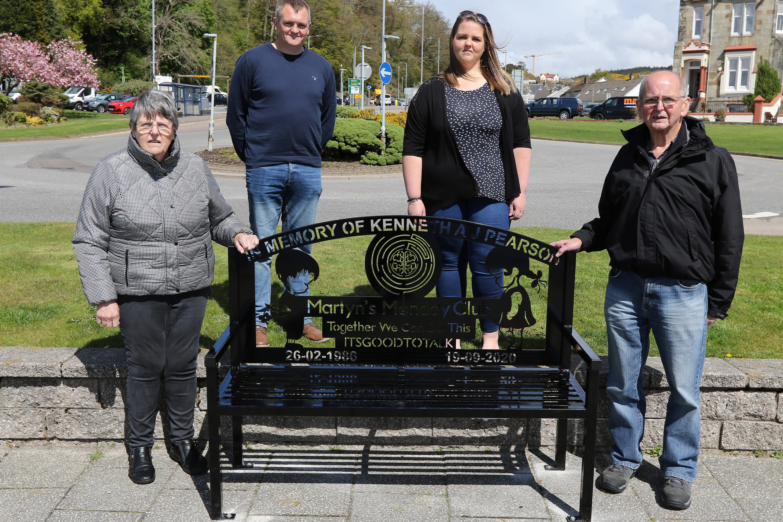 Oban's Kenneth remembered with talking bench   The Oban Times