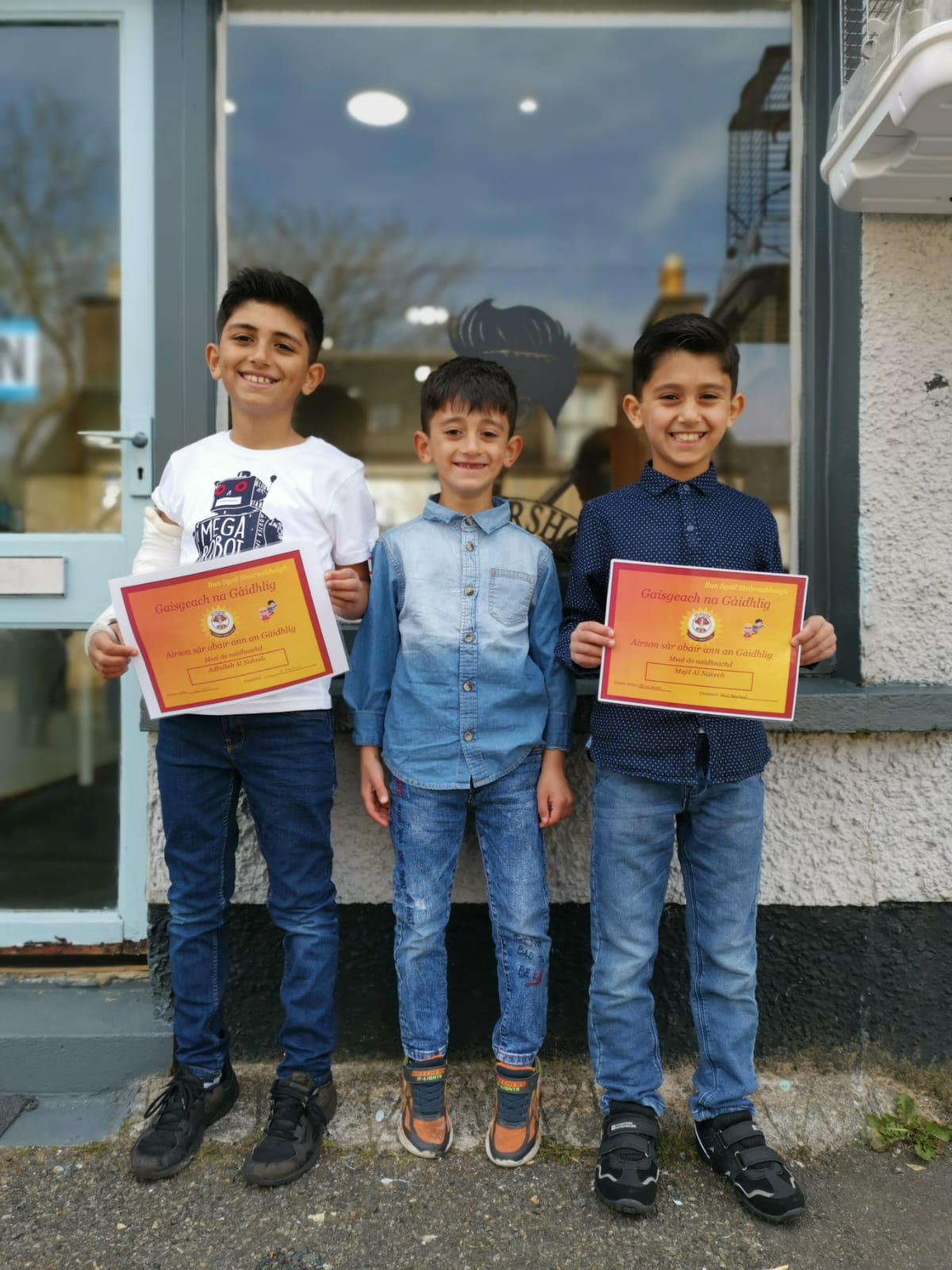 Online plaudits for Stornoway's 10-year-old Syrian Gaelic speaker | The Oban Times