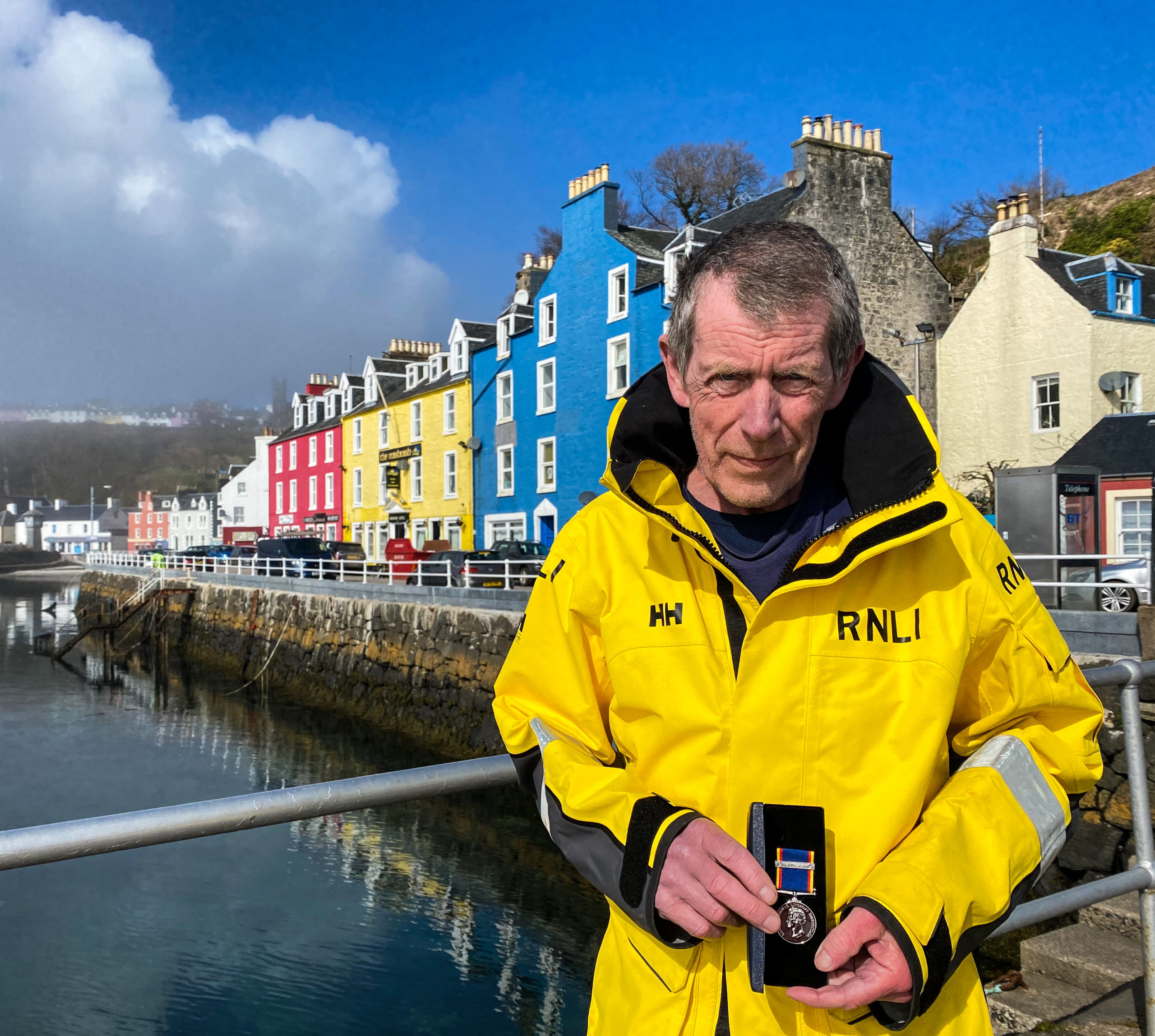 Long-service medal for lifeboat man Creon   The Oban Times